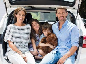 Viaje familiar en vacaciones de verano
